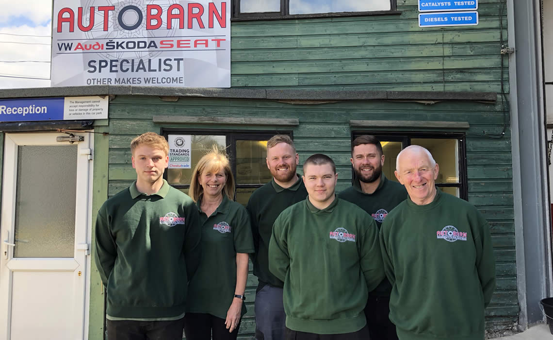 The team at Autobarn Buckinghamshire